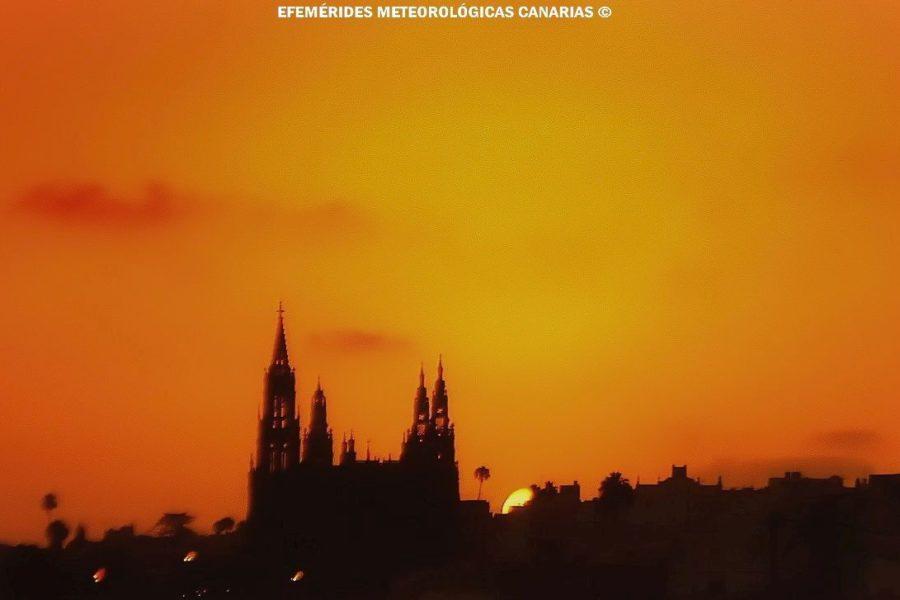 EFEMÉRIDES RECIENTES DE LAS OLAS DE CALOR VERANIEGAS EN CANARIAS