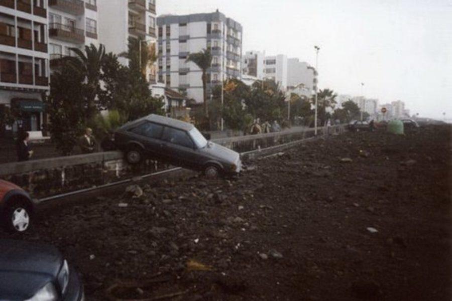 XX aniversario del temporal de enero de 1999 en Canarias.